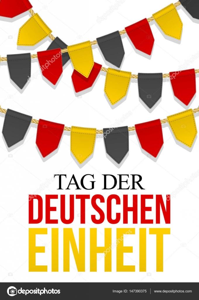 Dekoration Deutschland.Deutschland Independence Day Hintergrund Tag Der Deutschen