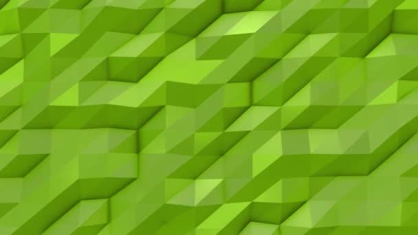 Zelená abstraktní nízké poly trojúhelník pozadí