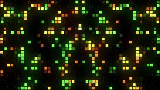 vj abstrakte bunte Quadrate Hintergrund