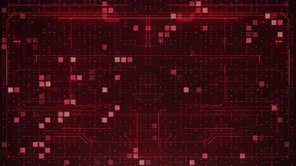 červené pozadí abstraktní digitální
