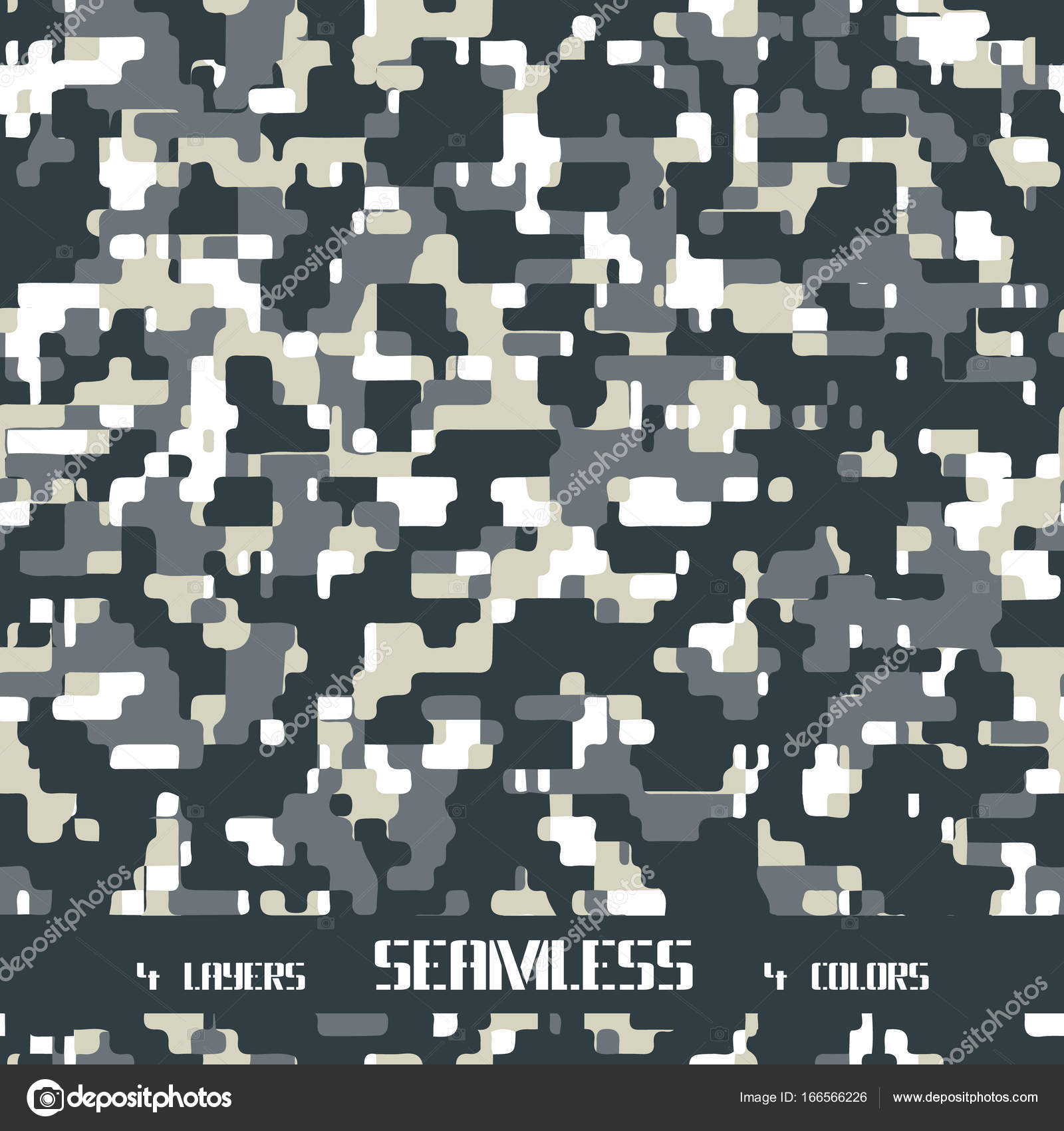 camuflaje pixel transparente — Vector de stock © Ziablov_Mikhail ...
