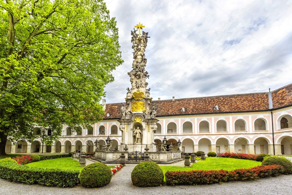 Abbey of the Holy Cross (Stift Heiligenkreuz) in Vienna woods. — Stock  Photo © Svetlana195 #128604656