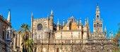 Fotografie Kathedrale der Heiligen Maria des Stuhls. Sevilla, Spanien