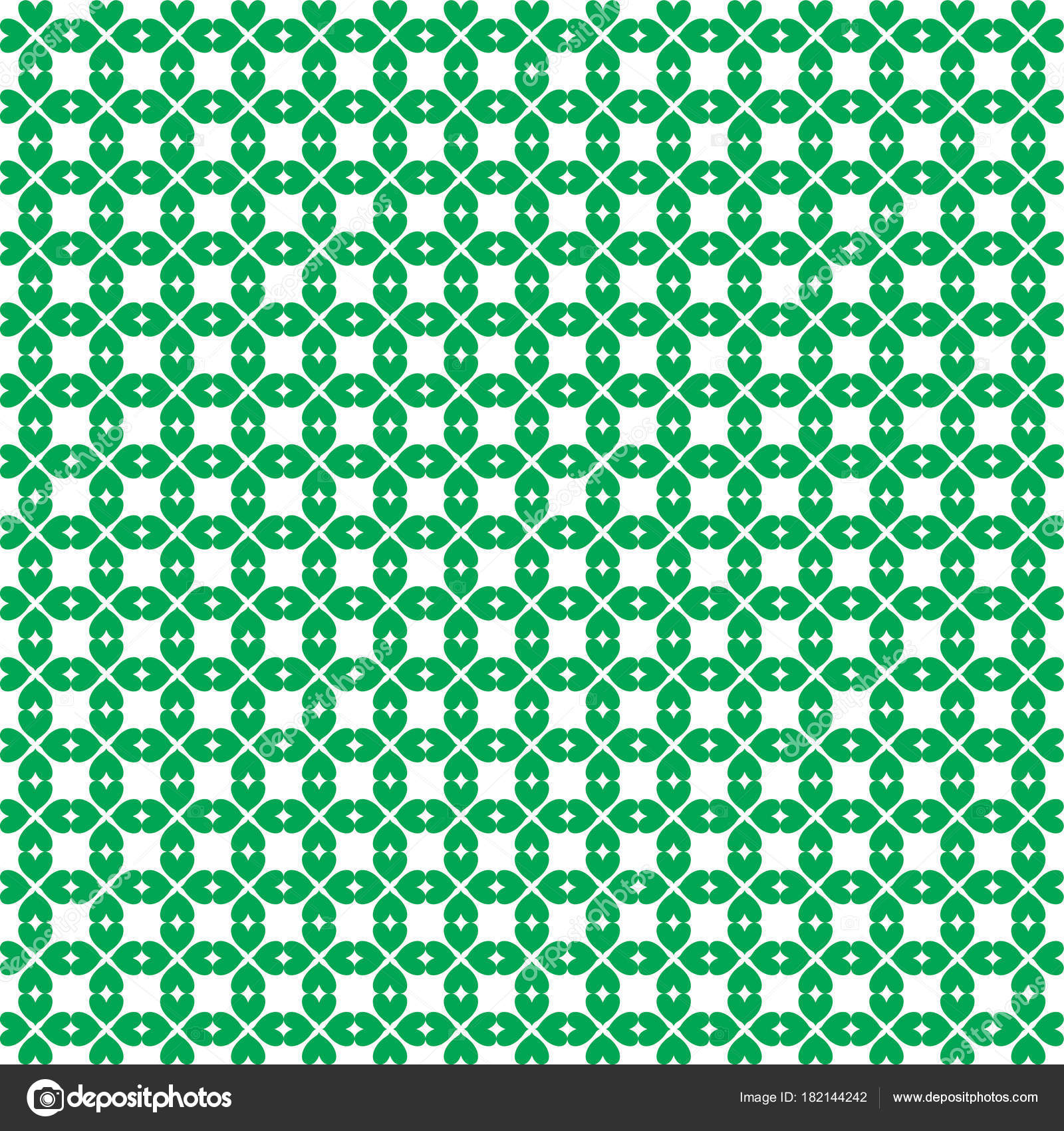 Saint Patricks Day Wallpaper Inconsútil Con El Patrón De