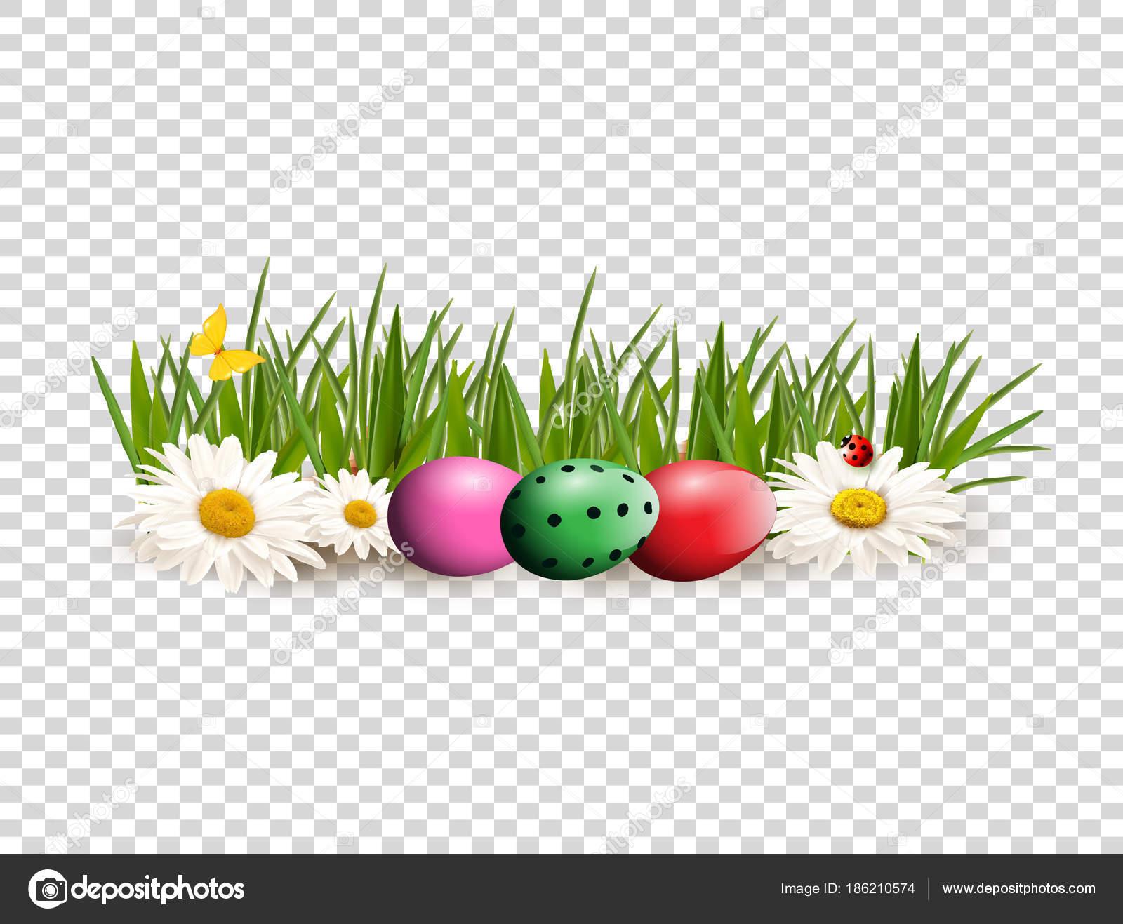 Prediseñadas de Pascua para la tarjeta de felicitación con huevos ...