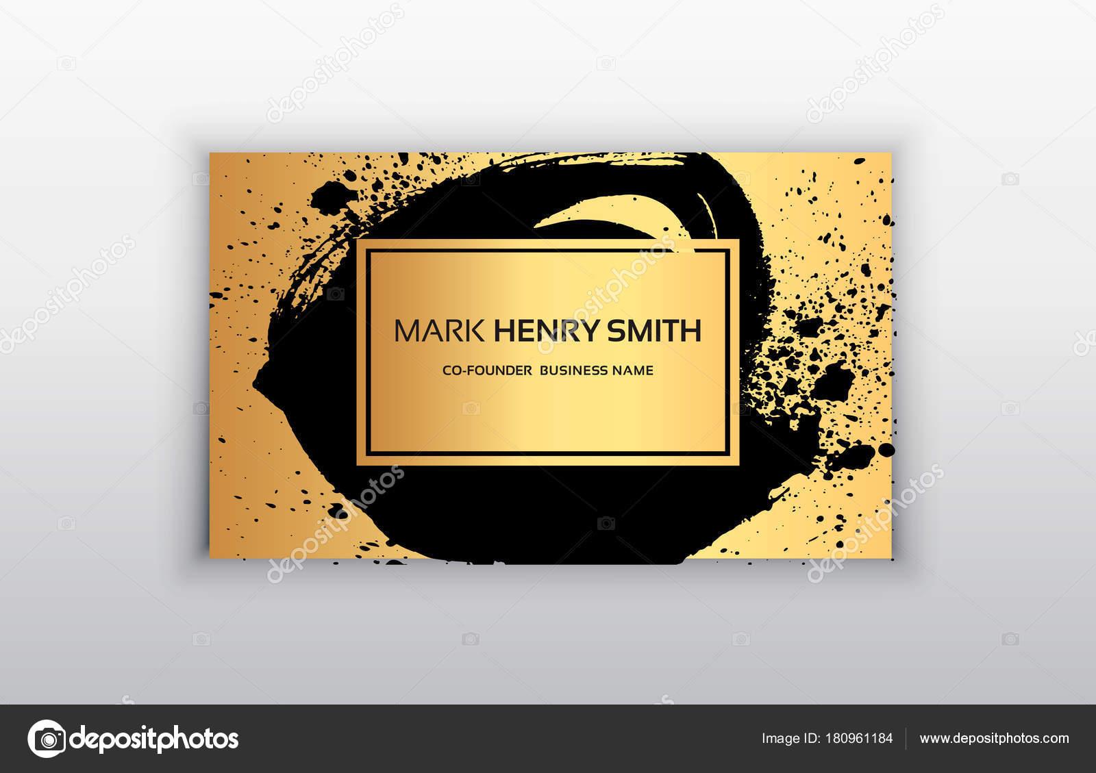 Carte De Visite Vecteur Design Luxe Illustration Stock