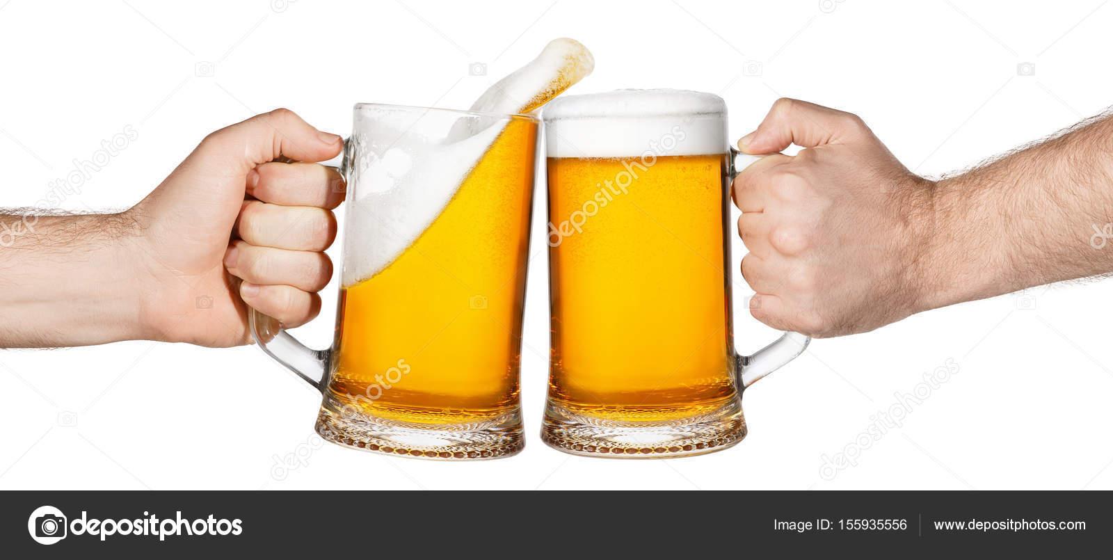 Cerveja, Brindando Com Esguicho