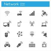 ikony bezdrátové technologie