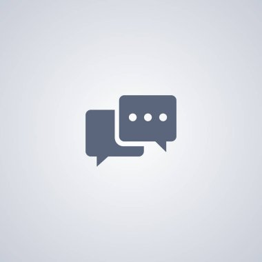 Chat icon, Talk icon