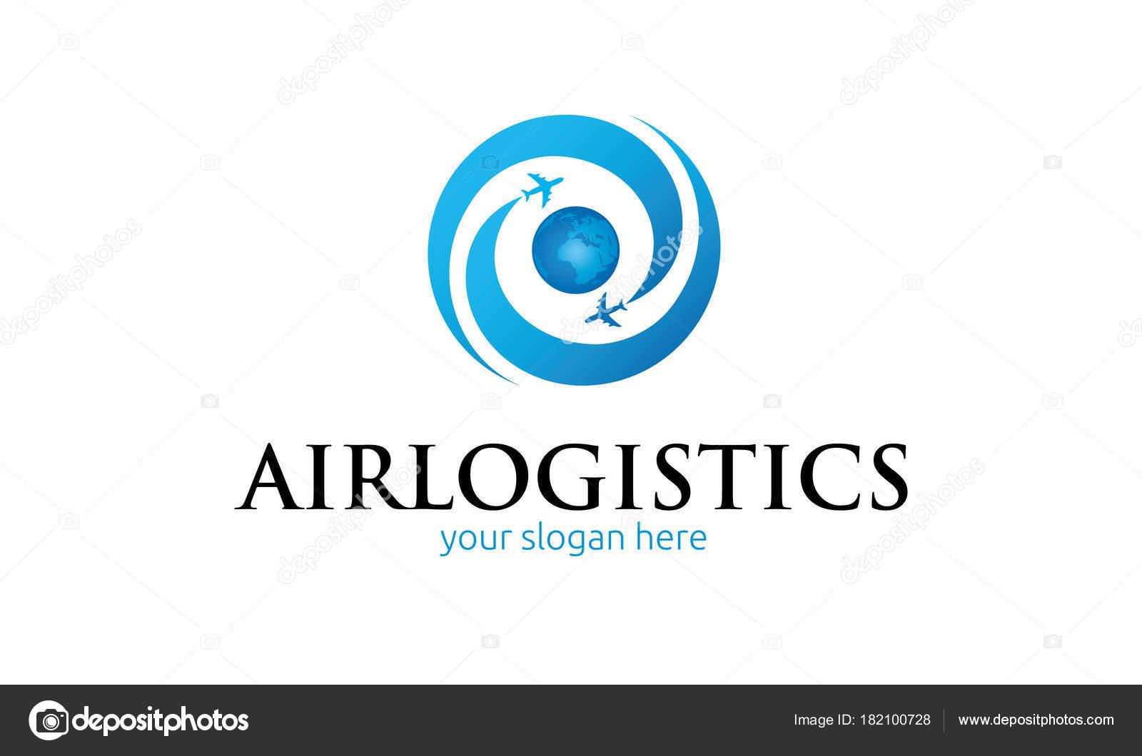Air Logistics Logo Vorlage — Stockvektor © ft-studio #182100728
