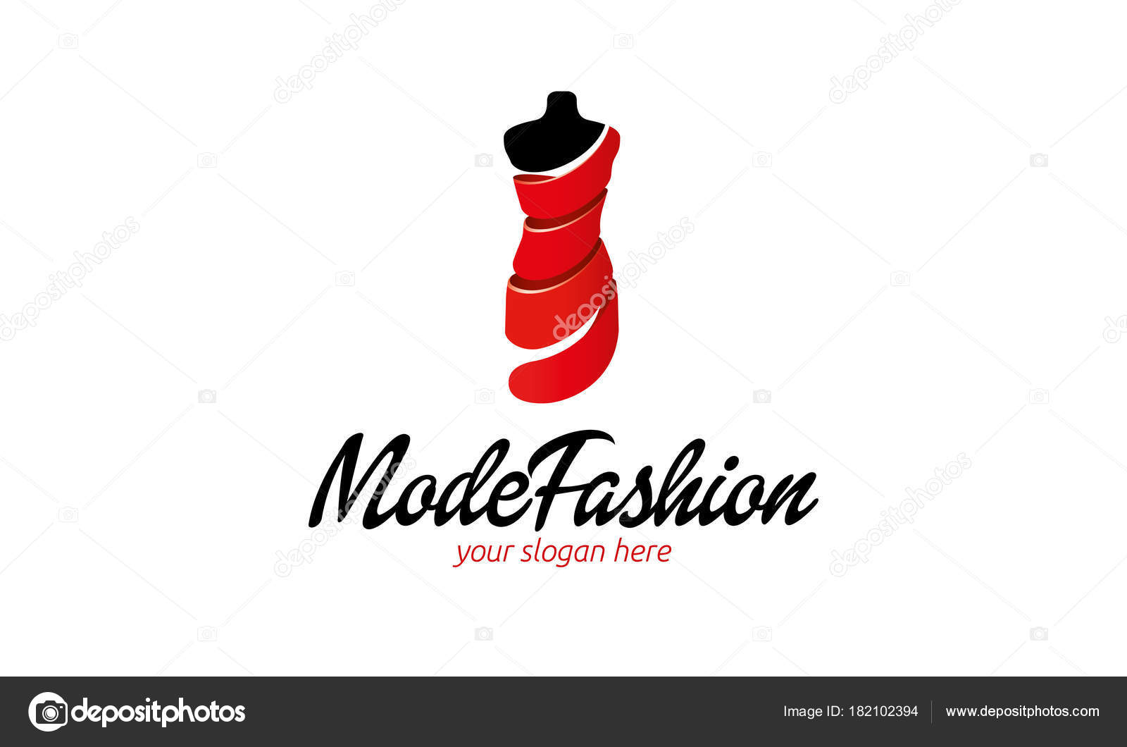 Mode Fashion Logo Template — Stock Vector © ft-studio #182102394