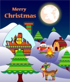 happy merry Christmas posters banners designs for Christmas