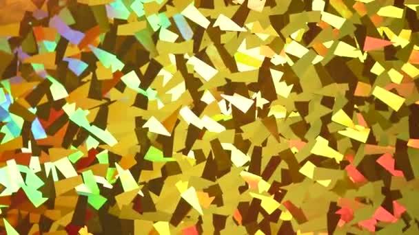 Absztrakt kristály háttér. Csillogó arany csillogó textúra. Arany fényes háttér forgatás