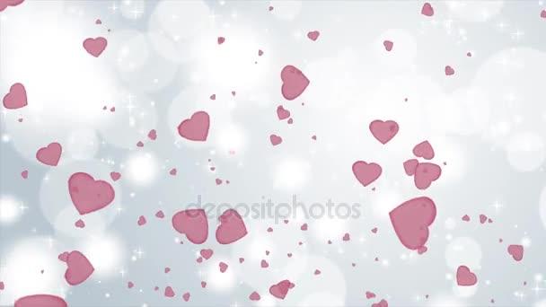 4 k rychlé Valentine pozadí