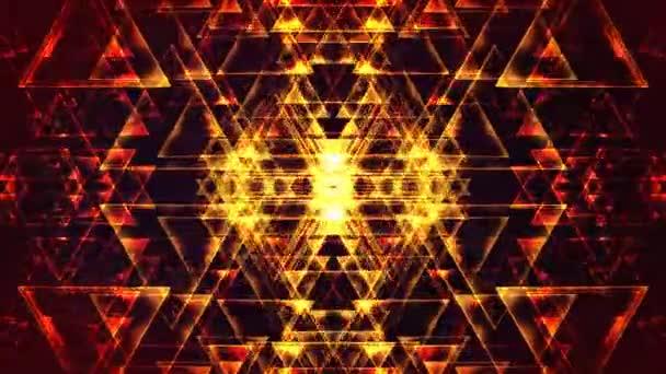 4 k abstraktní trojúhelníky pozadí