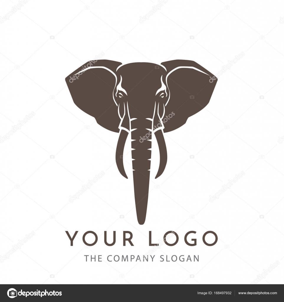 02e066e38 head elephant logo vector — Stock Vector © Guakanagari  168497932