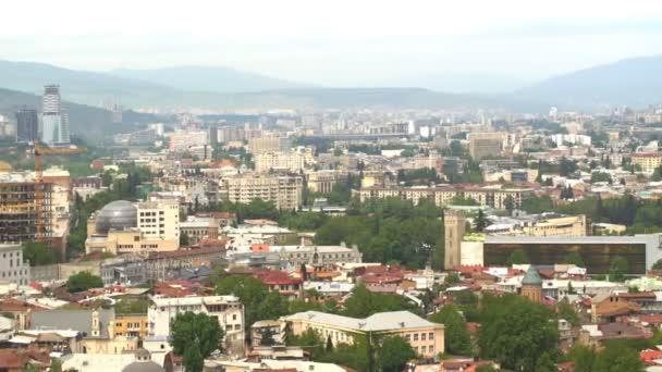 Panorama z tbilisi