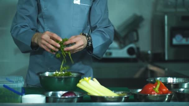 szakács főzés élelmiszer vágás előkészíti kéz kés előkészítése zöldségek