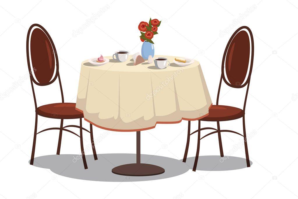 Mesa De Restaurante Moderno
