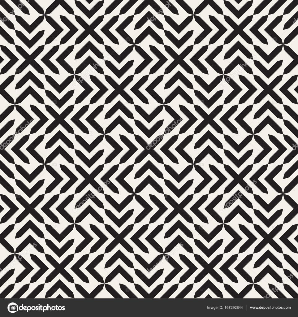 Vector seamless cross tiling pattern. Modern stylish geometric ...