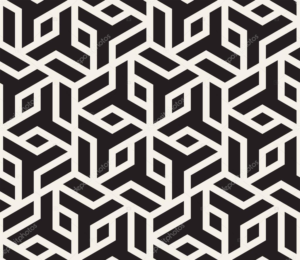vektor musterdesign moderne stilvolle abstrakte textur geometrische fliesen aus gestreiften. Black Bedroom Furniture Sets. Home Design Ideas