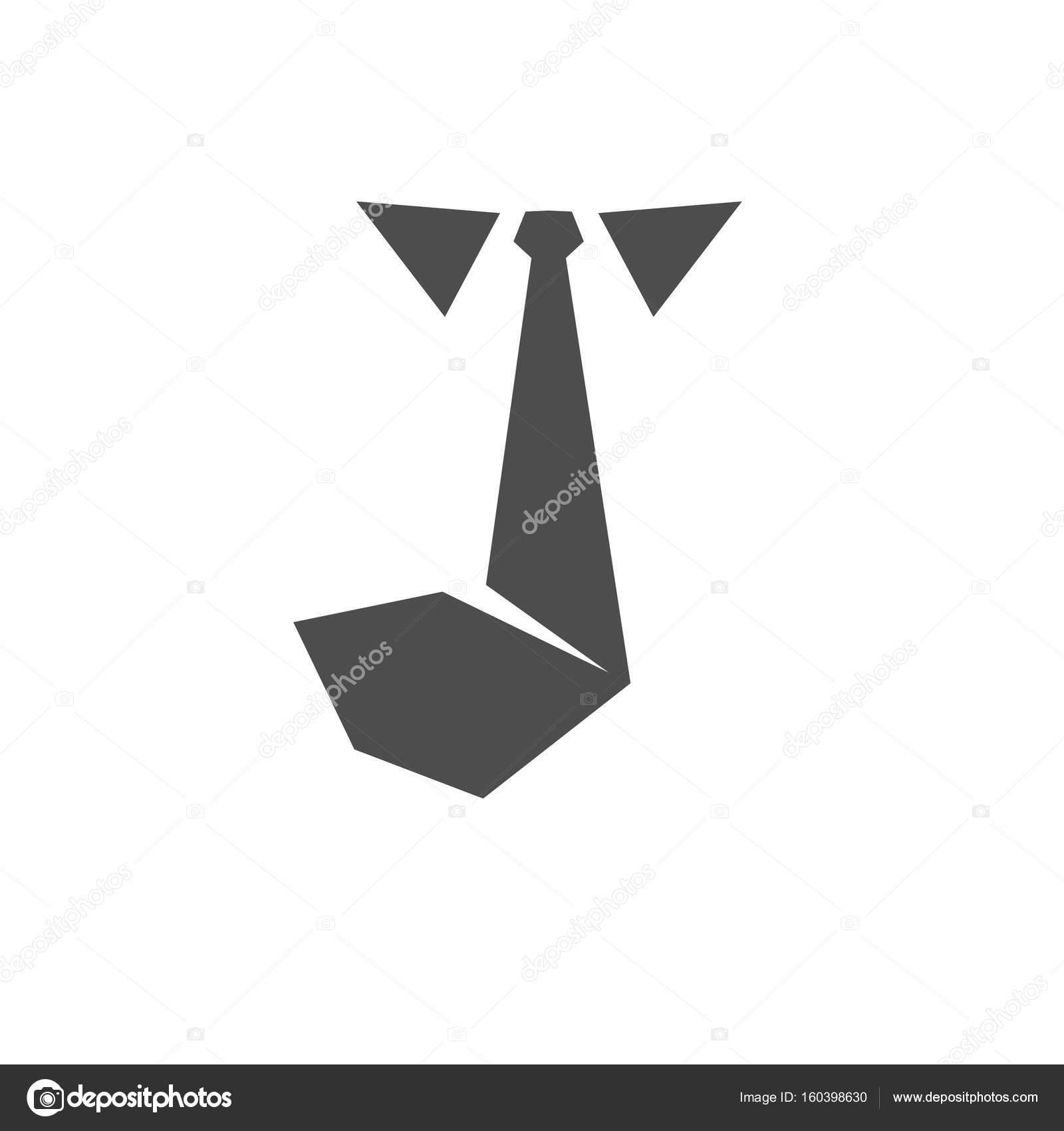 Nyakkendő ikon-vektoros szilárd logó — Stock Vektor © krustovin ... 081d45b9bc
