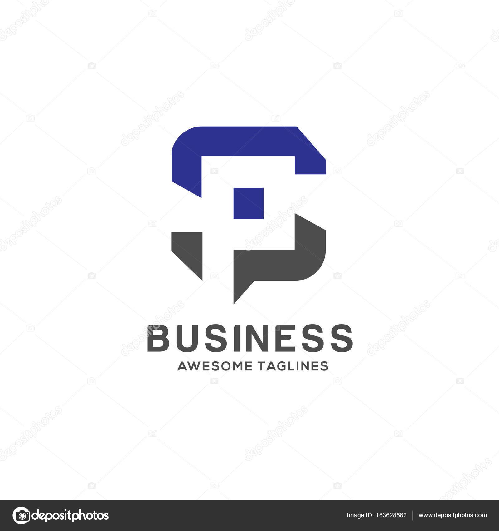 Images S P Letter Hd Letter Sp Logo Stock Vector