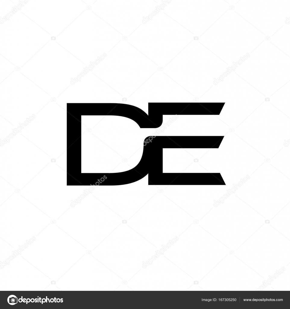 De letter logo design vector stock vector krustovin 167305250 de letter logo design vector illustration templated letter logo vector letter d and e logo vector creative letter de letter logo vector by krustovin biocorpaavc