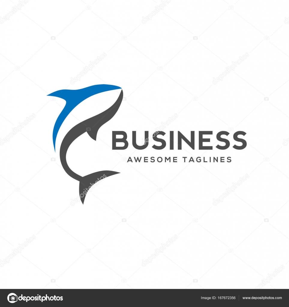 color shark fish vector template — Stock Vector © krustovin #167672356