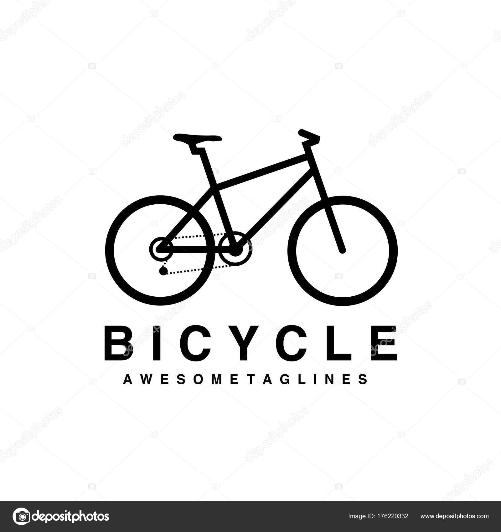 mountain bike logo vector mtb logo bicycle icon design flat stock vector  u00a9 krustovin 176220332 bicycle vector free bicycle vector clip art