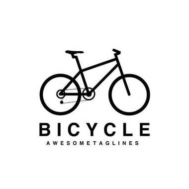 mountain bike logo vector, MTB logo, Bicycle icon design flat isolated. cycling race sport. Mountain bicycle, travel bicycle vector illustration