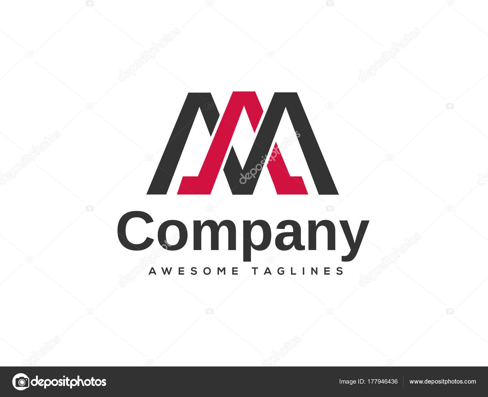 Kreatives Schreiben Bin Logo Vorlage Designelemente Einfaches