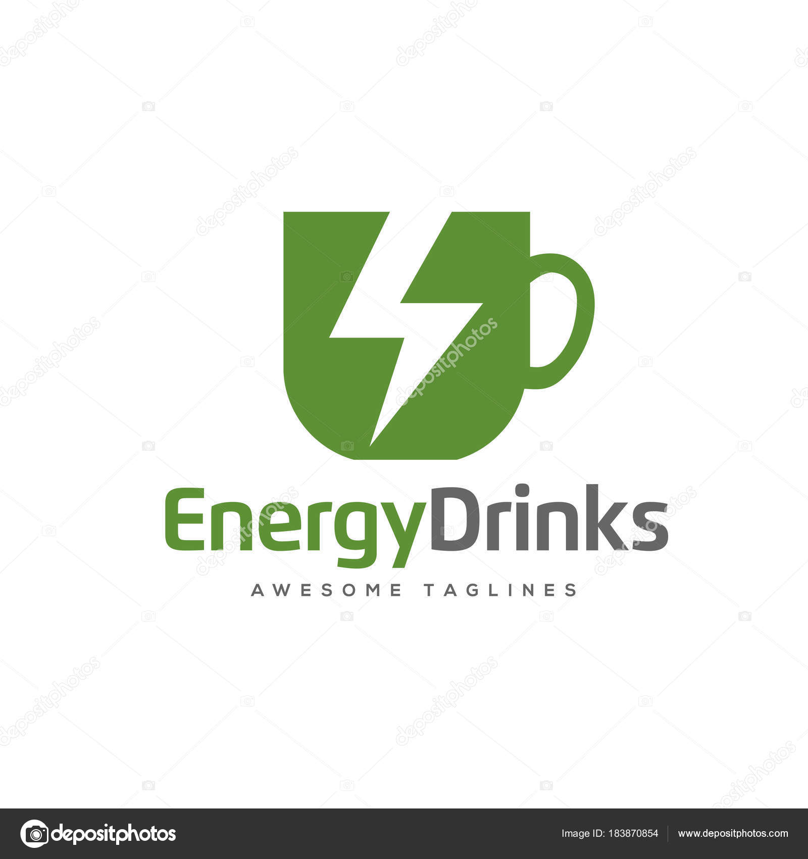 Sports drink logo | Energy Drink Logo Vector Fast Drink Logo