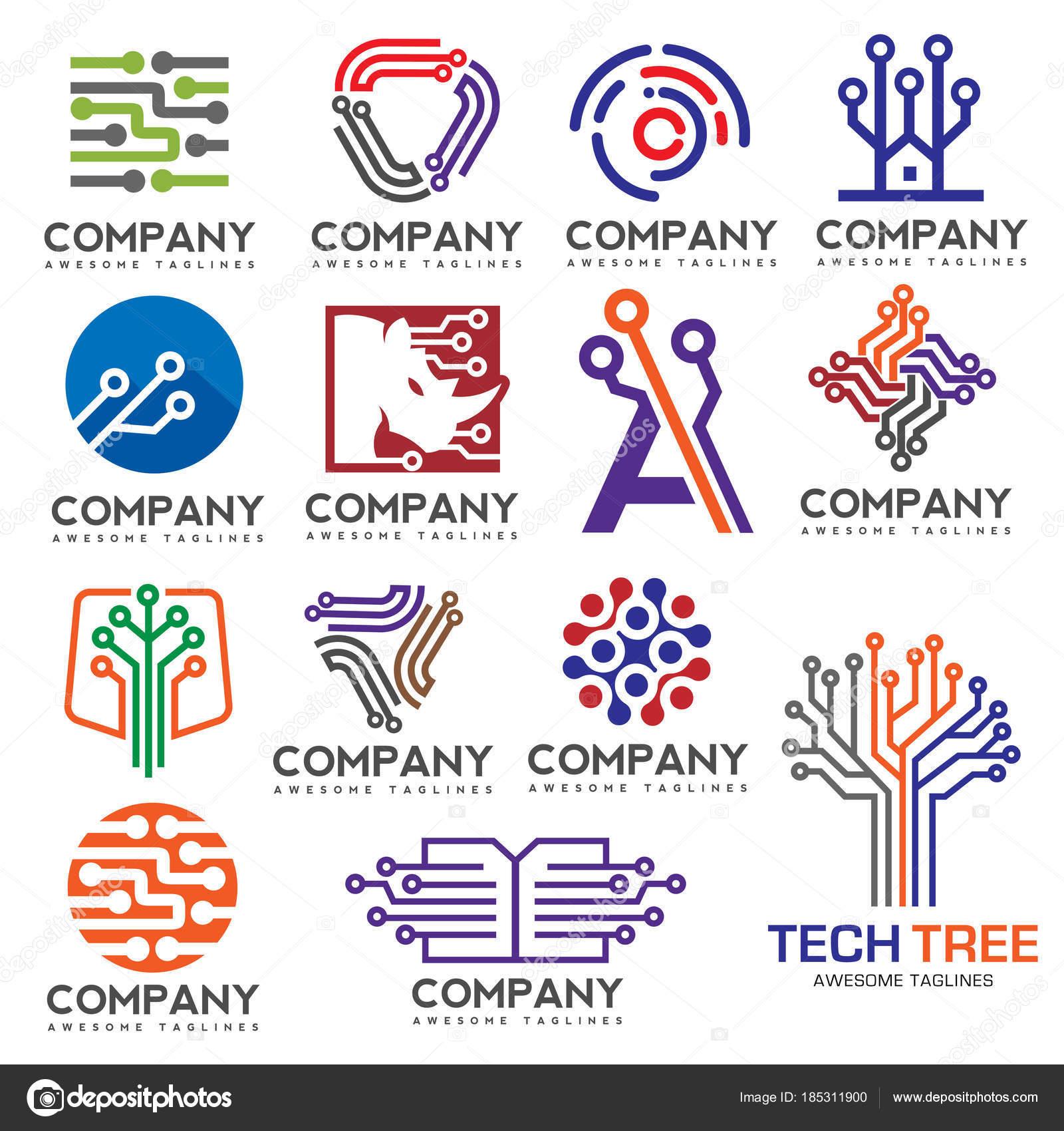Electronics Circuit Design Companies Modern Of Wiring Diagram Simple Software Digital Set Logo Creative Electronic Circuits Rh Depositphotos Com