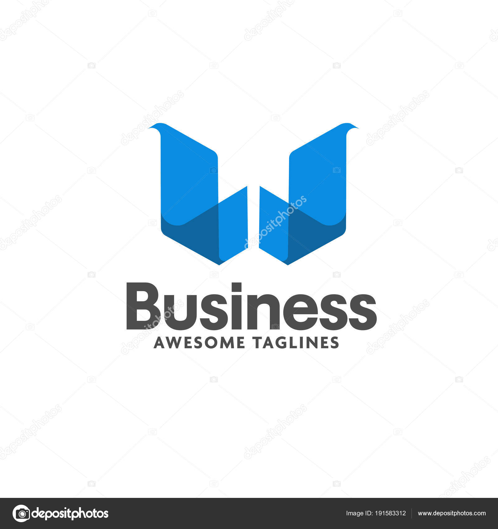 Letter Trend Isometric Logo Design Vector Illustration Template