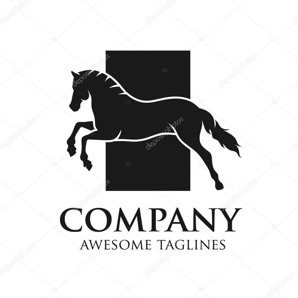 Simple Horse Vector Illustration Best For Sport Races Logo Premium Vector In Adobe Illustrator Ai Ai Format Encapsulated Postscript Eps Eps Format