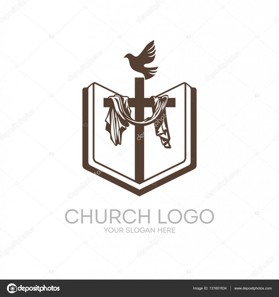church logo christian symbols bible holy scripture the cross