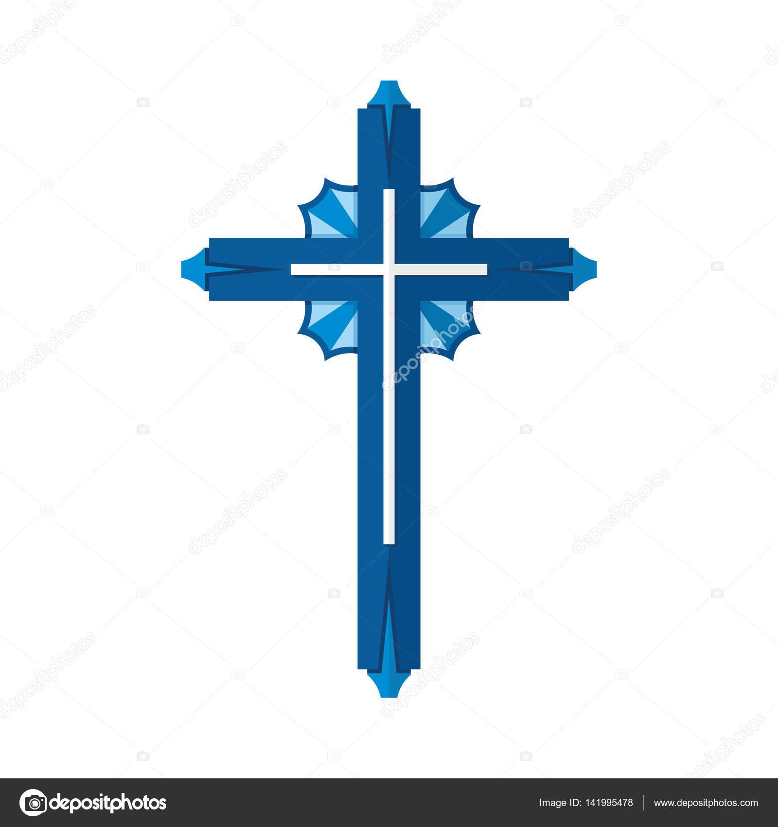 christian symbol cross of the lord and savior jesus christ