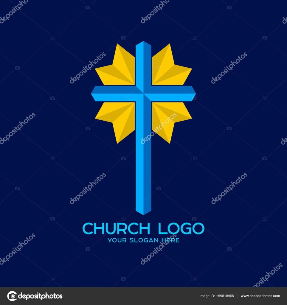 Church Logo Christian Symbols Cross Of The Savior Jesus Christ