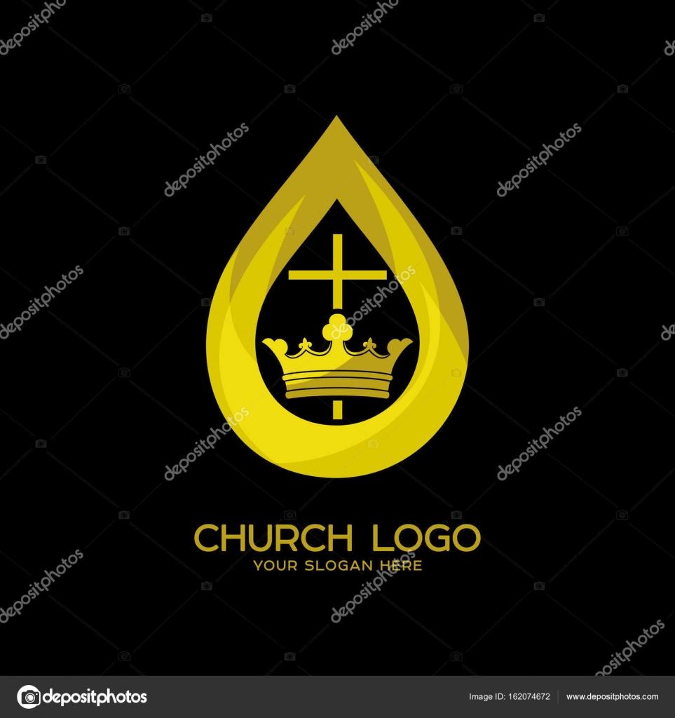 教会のロゴ。キリスト教のシンボ...