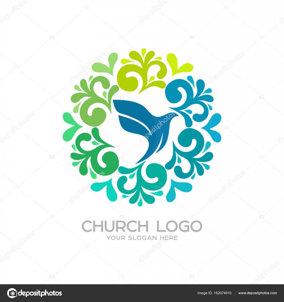 Church logo christian symbols dove the symbol of the holy christian symbols dove the symbol of the holy spirit stock biocorpaavc
