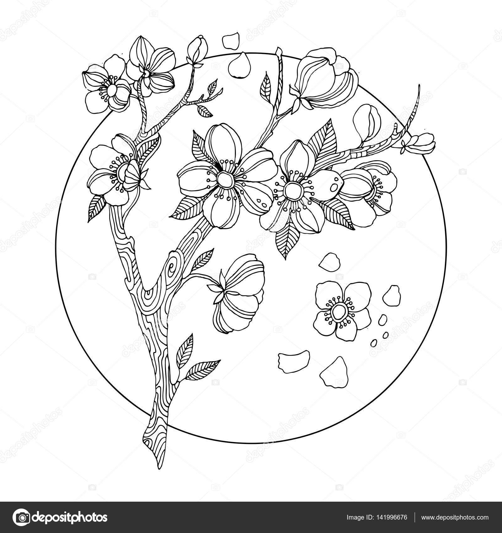 Coloriage Cerisier - OHBQ.info