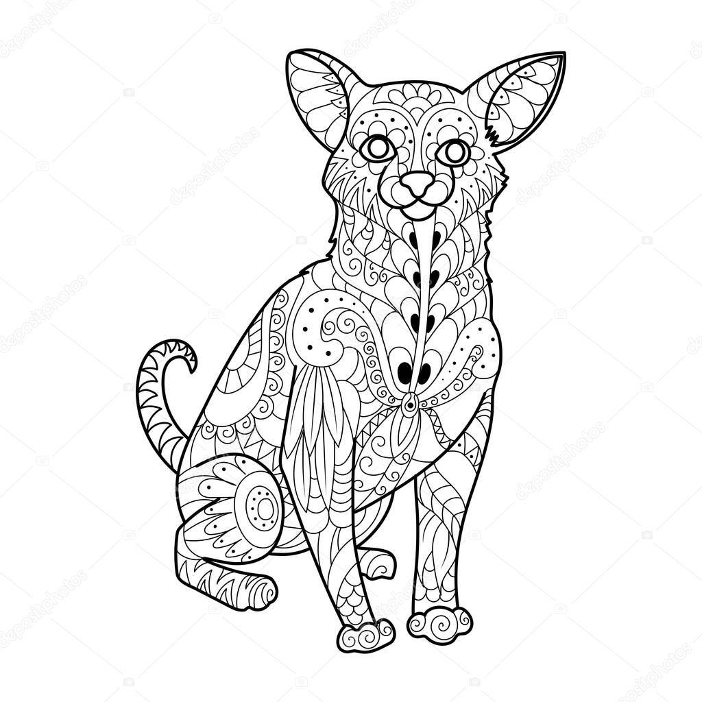 Asombroso Colorear Perros Chihuahua Componente - Ideas Para Colorear ...
