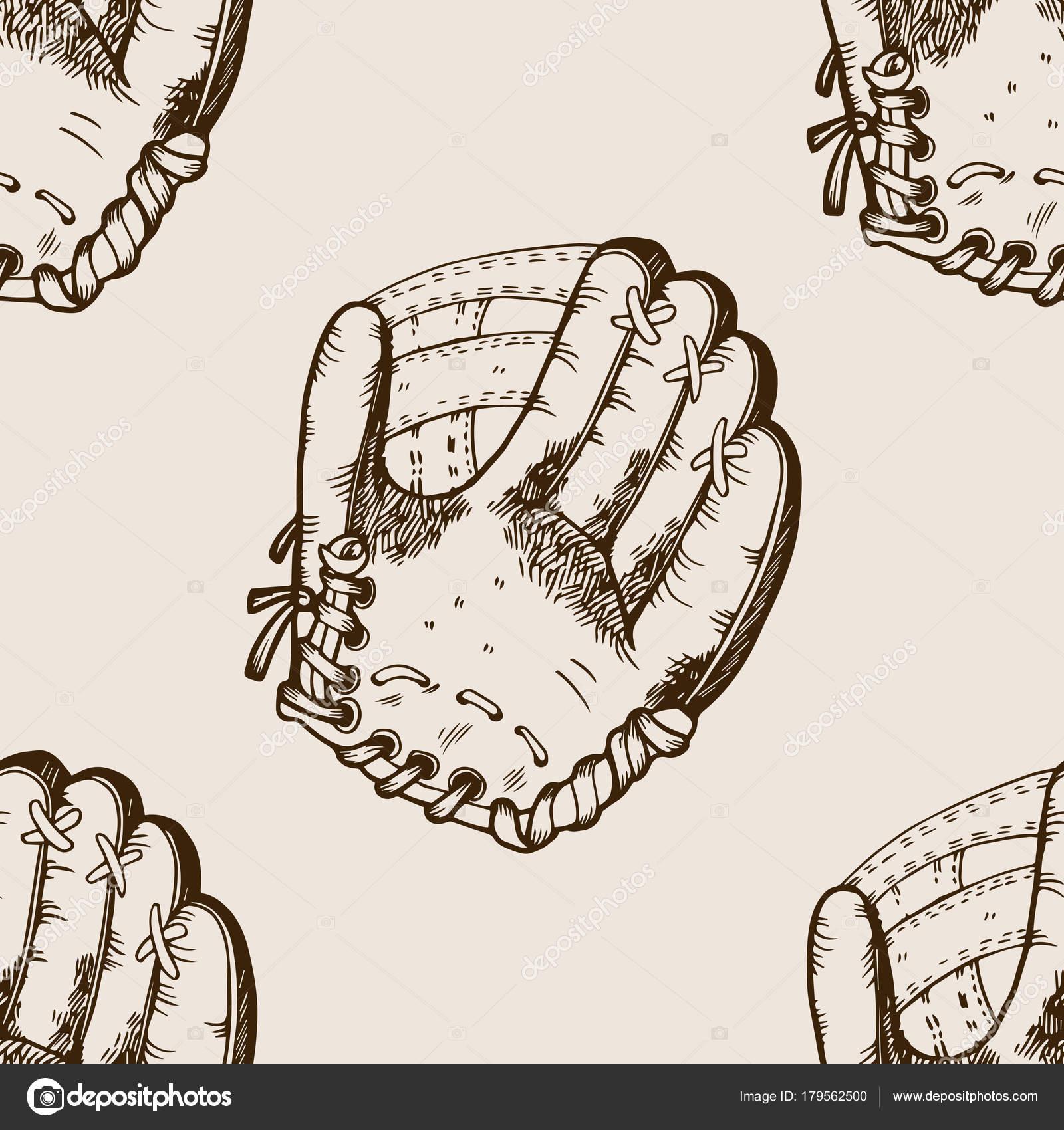 Ilustración de vector de béisbol equipo grabado — Vector de stock ...