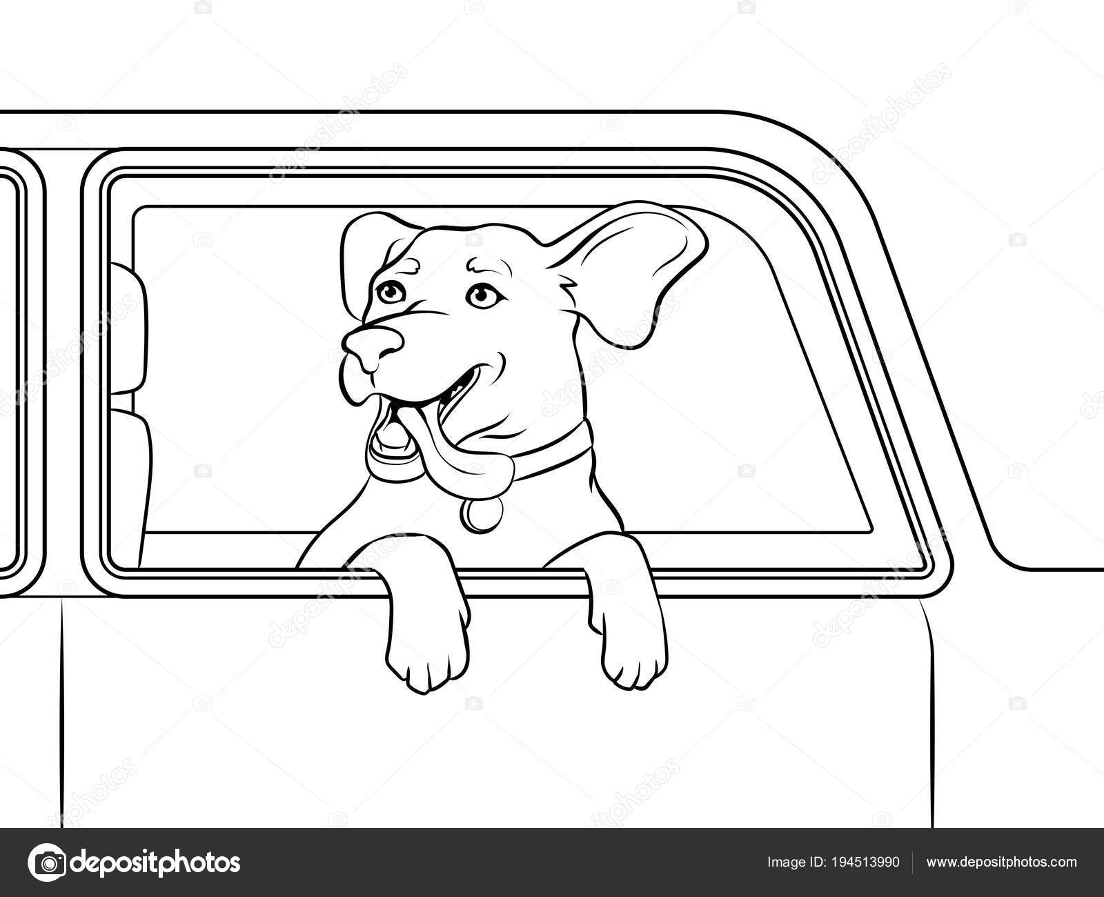 kleurplaten nl kleurplaat hoofd hond