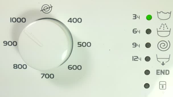 Operace ukazatele pračky, vymazat a točit