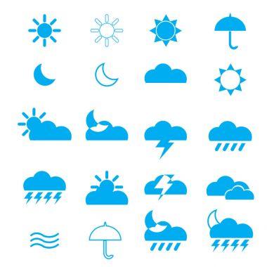 The weather icon vector design image icon