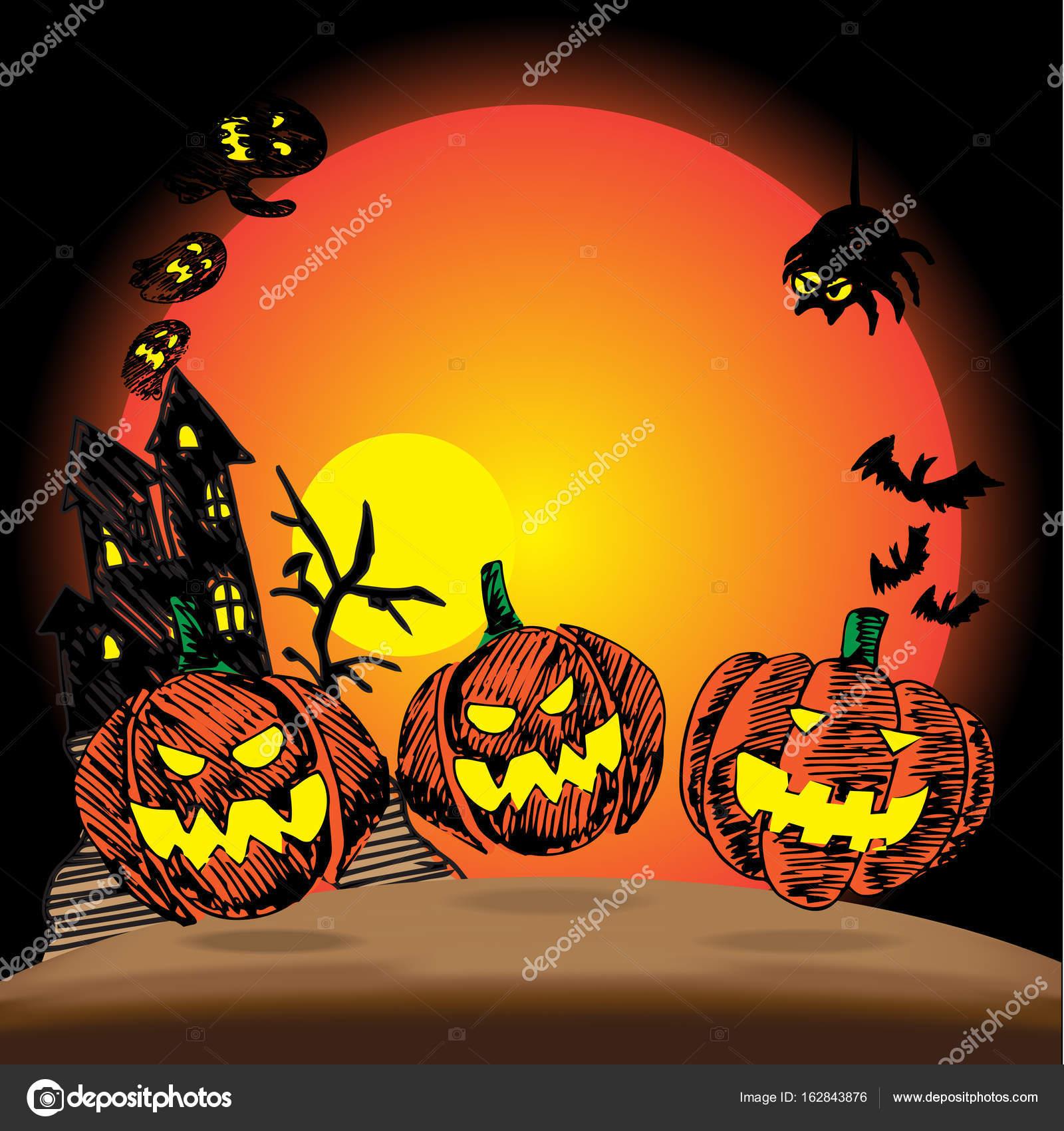 31 ottobre Halloween icona disegno di vettore — Vettoriali Stock ... abdf02154d9d
