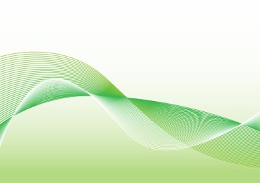 The Green wave vector Abstract background