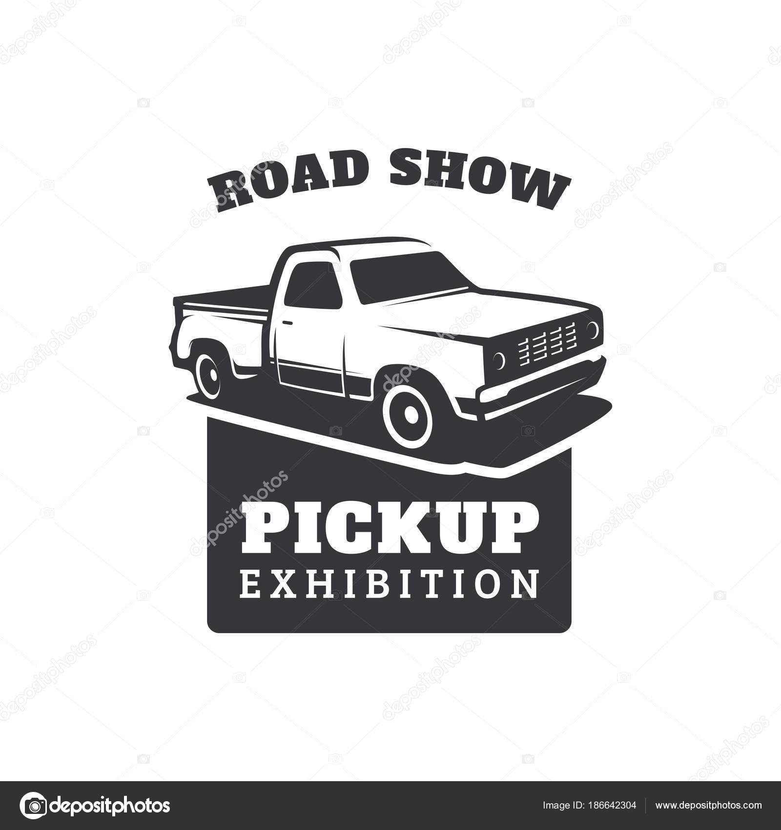 Pick Lkw Auto Vektor Logo Vorlage — Stockvektor © yellowline #186642304